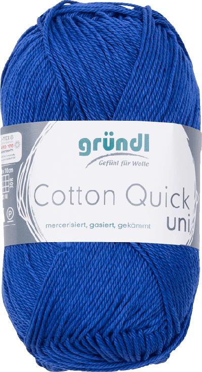 Cotton Quick Uni 135 MARINE BLAUW 50GR