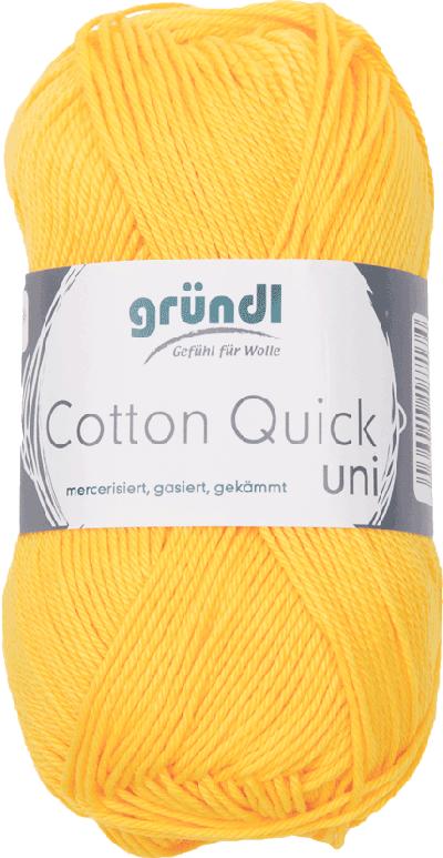 Cotton Quick Uni 138 MAIS GEEL 50GR