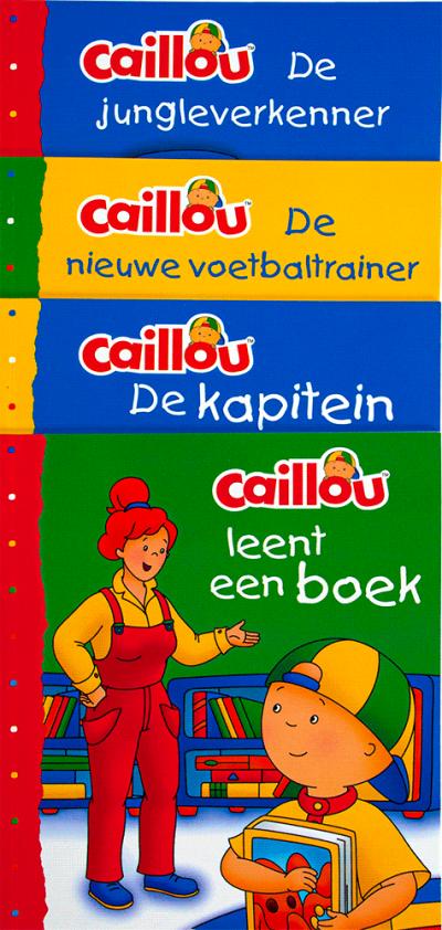 Caillou set 4 voorleesboekjes