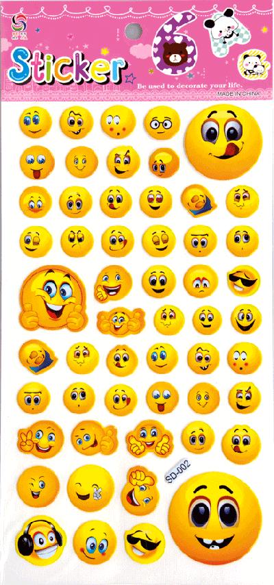 Stickervellen emoticon
