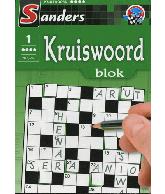 Kruiswoord Puzzelblok 4 sterren