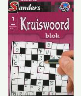 Kruiswoord Puzzelblok 2 sterren