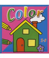 Mini Color Kleurboek Tractor Huis