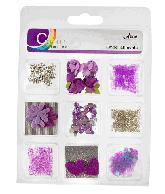 CU13 Embellishments paars