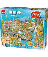 PUZZLE COMIC KINGS DAY 1000 PCS.