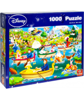 Puzzle Disney fun on the water (1000 pcs)