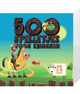 500 Spelletjes voor Kinderen 3 tot 5 jaar