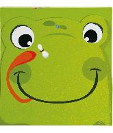 Kartonboek & Groeimeter Kikker