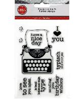 Rubber stemels Typemachine