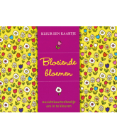 Kleur een kaartje: Bloeiende bloemen