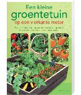Kleine groententuin op de vierkante meter