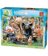 Puzzle Jungle Party, 1000 stukjes