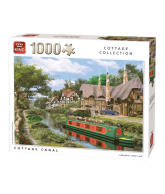 Puzzel Cottage Canal 1000 stukjes