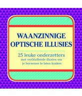 Optische Illusies 24 onderzetters