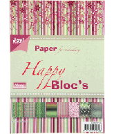 Joy Papierblok A5 Happy