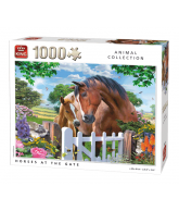 PUZZLE HORSES AT THE GATE 1000 PCS