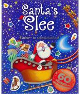 Santa's slee Sticker en activiteitenboek