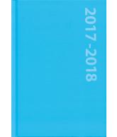 Schoolagenda A5 blauw 2017-2018