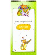 Verjaardagskalender katten