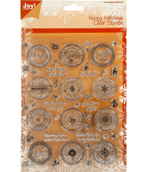 Joy! Clear Stamps Happy Holidays