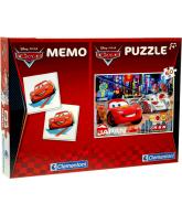 Cars 2, Memo en puzzel 60 stukjes