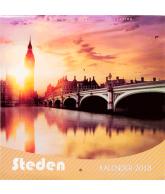 Kalender 2018 steden