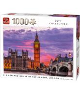 Puzzle BigBen Clock & Parliament House London (1000 pcs)