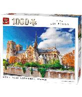 Puzzle Notre Dame de Paris cathedral France (1000pcs)