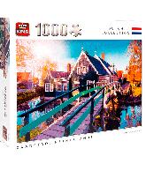 Puzzle Zaanstad Netherlands (1000 pcs)