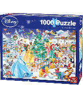 Puzzel Disney Winterwonderland (1000 pcs)