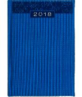Bureau agenda Dobby 2018  blauw