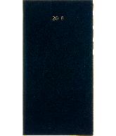 Zakagenda Minitimer staand 2018, kleur donkerblauw