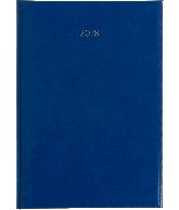Weekagenda A4 2018, kleur lichtblauw
