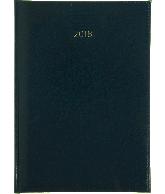 Weekagenda 2018 A5, kleur donkerblauw