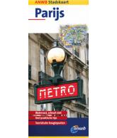 ANWB Stadskaart Parijs