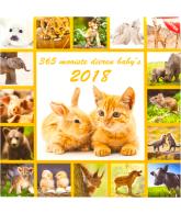 KALENDER 2018: 365 MOOISTE DIEREN BABY S