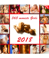 KALENDER 2018: 365 MOOISTE GIRLS