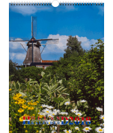 Kalender 2018 holland A3 formaat