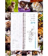 Omlegkalender week 2018 lovely cats