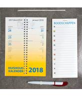 Omlegweek kalender 2018 Boodschappen
