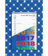 Weekblok kalender 2018 schoppen