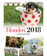 Weekkalender 2018 hond