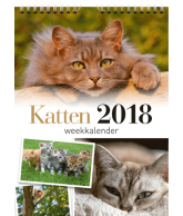 Weekkalender 2018 katten