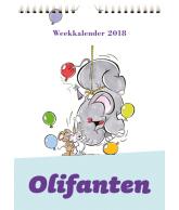 Weekkalender 2018 olifant