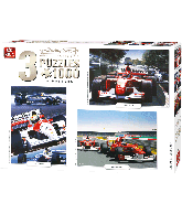Puzzel 3in1 Compendium racing cars (1000 stukjes)