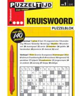 Puzzelblok kruiswoord 1 punt nr 1