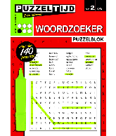 Puzzelblok woordzoeker 1 punt nr 2