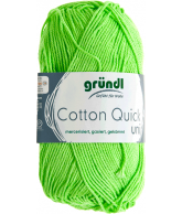 Cotton quick uni kiwi 50 gram