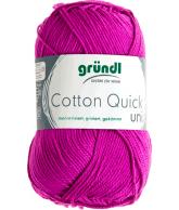 Cotton quick uni fuchsia 50 gram