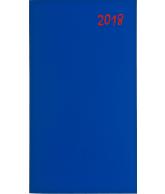 Agenda topper soft zakagenda 2018 blauw (420)